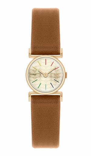 オーラ・カイリー orla kiely レディース 腕時計 OK2046 レザーストラップ 【正規品】【送料無料】