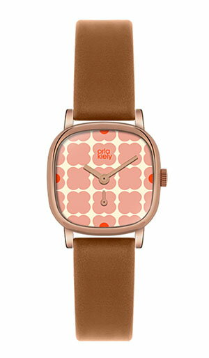 オーラ・カイリー orla kiely レディース 腕時計 OK2056 レザーストラップ 【正規品】【送料無料】