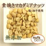 素焼きマカダミアナッツ(無添加・ロースト)≪500g≫