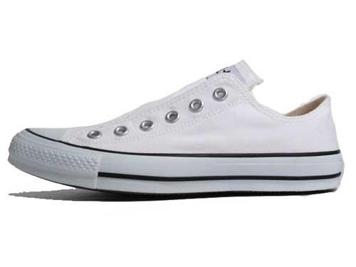 コンバース CONVERSE オールスター スリップ3 OX スニーカー ホワイト【メンズ・レディース・靴】