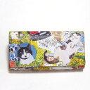Manhattaner's マンハッタナーズ 長財布 「薫るマンハッタン」 「猫雑貨」「ネコグッズ」 【楽ギフ_包装】