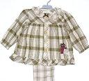 ショッピングマンハッタナーズ asマンハッタナーズ 子供パジャマ「ねこ顔シリーズ」 110サイズ