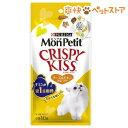 モンプチ クリスピーキッス チーズ&チキンセレクト(3g*10袋入)【p_10】【モンプチ】[猫 おやつ][爽快ペットストア]