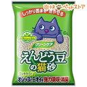 クリーンケア えんどう豆の猫砂(6L)【d_earthpet】[爽快ペットストア]
