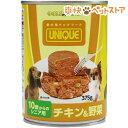 イトウ&カンパニー ゴールドリング ユニーク 犬缶 10歳からのシニア用 チキン&野菜(375g)