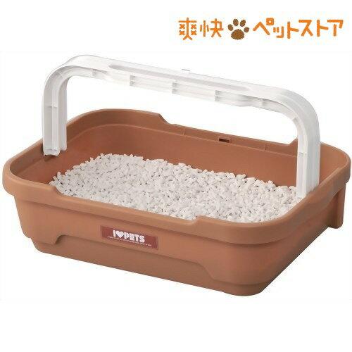 ボンビアルコン しつけるトイレC-S ブラウン(1コ入)[猫 トイレ ペット用品]:爽快ペットストア