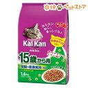 カルカンドライ 15歳から用 かつおと野菜味(1.6kg)【カルカン(kal kan)】[爽快ペットストア]
