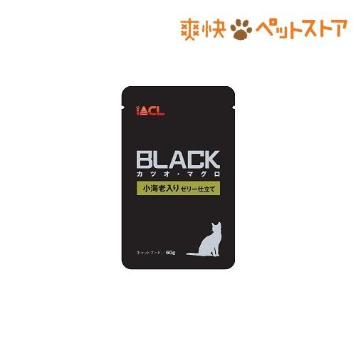 【おススメ】ブラック カツオ・マグロ 小海老入り ゼリー仕立て(60g)【ブラック(ペットフード)】[爽快ペットストア]