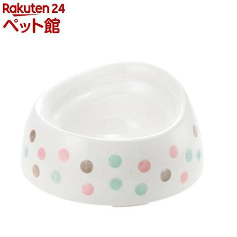リッチェル 食べやすい ドッグディッシュ S深型 ホワイト(1コ入)【リッチェル(ペット)】[爽快ペットストア]