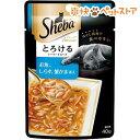 シーバアミューズ とろけるシーフードスープ お魚、しらす、蟹かま(40g)【シーバ(Sheba)】[爽快ペットストア]