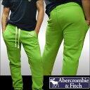 アバクロ Abercrombie&Fitch アバクロンビー&フィッチ 正規 メンズ スウェット パンツ グリーン アメカジ サーフ ファッション ブランド インポート カジュアル ヴィンテージ スタイル 正規 商品 sp06