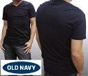 【セール】 オールドネイビー メンズ Tシャツ ブラック 無地 Vネック OLD NAVY GAP 半袖 トップス シャツ インポート ファッション ブランド ストリート サーフ アメリカン カジュアル アメカジ ヴィンテージ スタイル 正規 商品