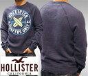 【送料無料】【セール】 HOLLISTER ホリスター メンズ スエット トレーナー インポート ブランド ファッション カジュアル Safari 雑誌 掲載 アメカジ ウェア サーフ スタイル 正規 商品