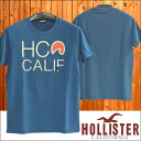 【送料無料】【セール】【200種類の品揃え】 ホリスター メンズ Tシャツ HOLLISTER HCO CALIF ブルー インポート ブランド ファッション カジュアル Safari サファリ オーシャンズ 雑誌 掲載 アメカジ セレカジ ストリート ウェア サーフ スタイル 正規 商品 080