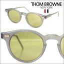 トムブラウン THOM BROWNE メガネ サングラス TB-404-C-T-GRY-45 【即納】 【セレブ・芸能人愛用】 メンズ レディース 正規品 LAセレブ ハリウッド インポート ブランド アクセサリー カジュアル アメカジ セレカジ スタイル ファッション 装飾品