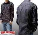 トゥルーレリジョン メンズ TRUE RELIGION コーデュロイ 長袖 ウェスタン シャツ ST BLACK セレブ 愛用 ブランド ファッション アメカジ インポート カジュアル ヴィンテージ スタイル 正規 商品