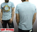 トゥルーレリジョン メンズ TRUE RELIGION Tシャツ FLOWER BONES へザーグレー tシャツ 半袖 シャツ セレブ 愛用 ブランド ファッション アメカジ インポート カジュアル ヴィンテージ スタイル 正規 商品
