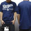 ロサンゼルス ドジャース メンズ Tシャツ ネイビー メジャーリーグ MLB LA Dodgers majestic athletic インポート カジュアル ストリート ウェアー ヒップホップ ファッション HIPHOP B系 スタイル ウエストコースト 西海岸 服 ダンス ウェア アメカジ ブランド セール