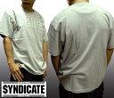 ショッピングヒップホップ 【送料無料】【セール】 ライムシンジケート メンズ Tシャツ グレー RHYME SYNDICATE ICE-T アイス-T ストリート スタイル HIPHOP ウェアー B系 B-Boy 服 ヒップホップ bboy B-Boy ギャングスタ ウェッサイ ウエストコースト ファッション LA カジュアル ブランド ウェア