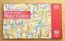 【送料無料】ホルベイン透明水彩絵具60色セットHWC60