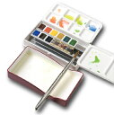 ホルベイン 固形水彩絵具 アーチストパンカラー 12色セット(パームボックス)