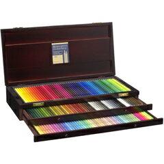 【あす楽対応】【送料無料】贈答用にも最適なウッドボックス入りホルベイン アーチスト色鉛筆150色セット 木箱入り
