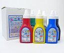 ビニールやポリ袋に塗れる!ターナー「ビニから」6色セット