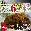 もずく(沖県産)5kg【塩抜き不要】【送料無料】太もずく 洗いもずく モズク ダイエット 海藻 天然食品もずく酢 フコイダン 02P01Oct16