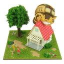 【定形外郵便送料無料】 みにちゅあーとキット スタジオジブリmini となりのトトロ 草壁家とネコバス MP07-02