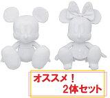 ディズニー セレブレーションドール よせがきぬいぐるみ2体セット ミッキーマウス&ミニーマウス 高さ22cm【Disneyzone】