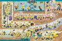 ジグソーパズル 1000ピース ミニオンズ 地下のシークレット・ベース 50x75cm 10-1358