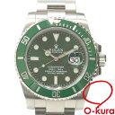 【中古】 ロレックス ROLEX サブマリーナ デイト メンズ 116610LV オートマ ランダム番 SS 腕時計 自動巻き 緑サブ グリーンサブ