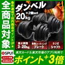 セメントダンベル 20kg 2個セット SDB-I002BK ダンベルセット トレーニング 20kg...