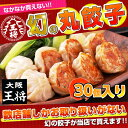 The gourmet who is pleased with to 30 [Osaka king gyoza] circle gyoza presents♪