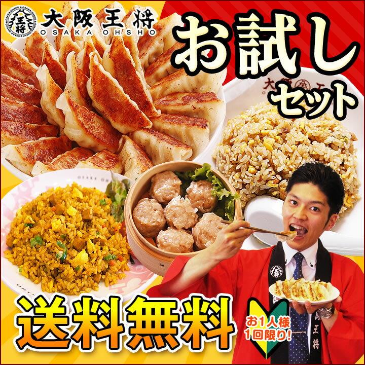餃子送料無料大阪王将お試しセットギョウザギョーザ炒飯...:o-ohsho:10000003
