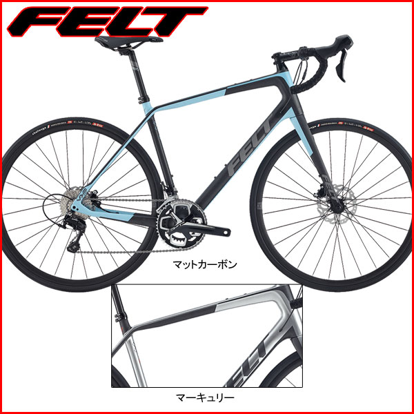 FELT(フェルト) 2017年モデル VR5【ROAD/ロードバイク】【運動/健康/美容】 ロードバイクの次なる時代を切り開くマルチロード【大阪府】