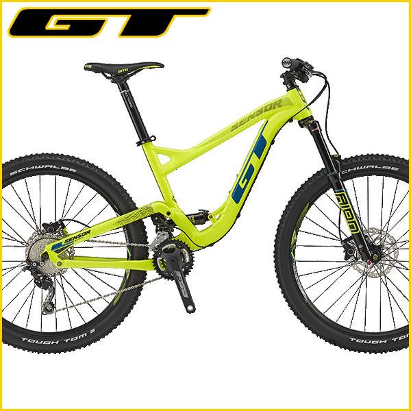 GT(ジーティー) 2017年モデル センサー コンプ / SENSOR COMP【MTB/マウンテンバイク】【27.5インチ(650B)】【運動/健康/美容】 【操る者に高揚感をもたらすダウンヒル性能】GT 2017 センサー コンプ