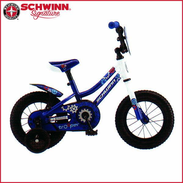 SCHWINN(シュウィン) 2017年モデル トゥルーパー TROOPER【12インチ】【子供車/キッズバイク】【子供用自転車】 SCHWINN(シュウィン) 2017年モデル TROOPER