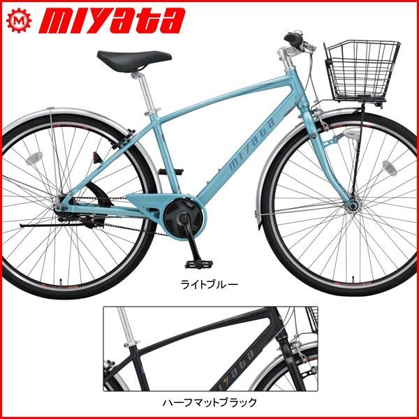 MIYATA(ミヤタ) EX-CROSSEX(クロス ベルト)【クロスバイク】【2017年ラインナップ】 MIYATA(ミヤタ) EX-CROSSEX(クロス ベルト)【クロスバイク】【2017年ラインナップ】