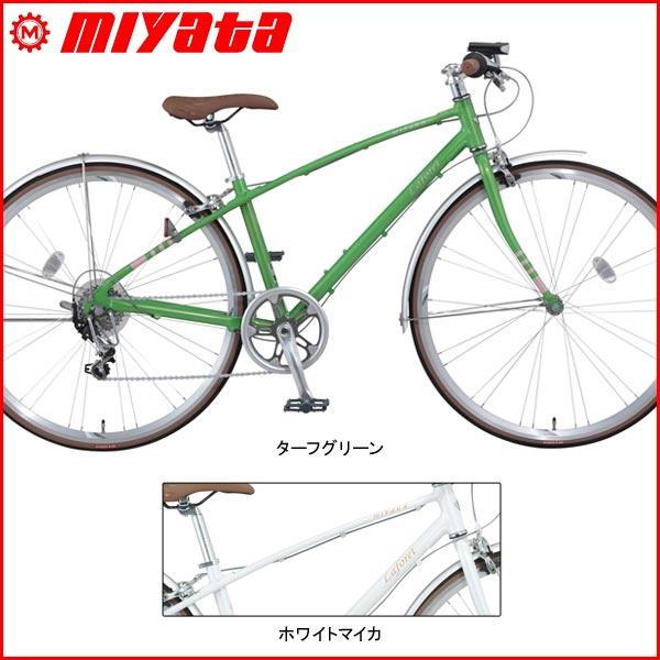 MIYATA(ミヤタ) Laforet(ラフォーレ)【クロスバイク】【2017年ラインナップ】 MIYATA(ミヤタ) Laforet(ラフォーレ)【クロスバイク】【2017年ラインナップ】