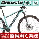 ビアンキ 2018年モデル METHANOL CV 9.3 SRAM X01 EAGLE(メタノール CV 9.3 スラム X01 イーグル)【29インチ】【MTB/マウンテンバイ..