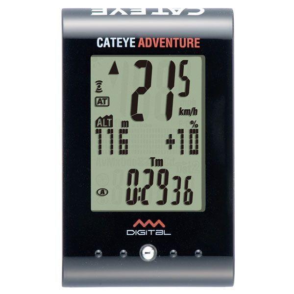 CATEYE(キャットアイ)CC-AT200W ADVENTURE [アドベンチャー] 高度、傾斜が分かる山向けメーター CATEYE(キャットアイ)CC-AT200WADVENTURE/アドベンチャー
