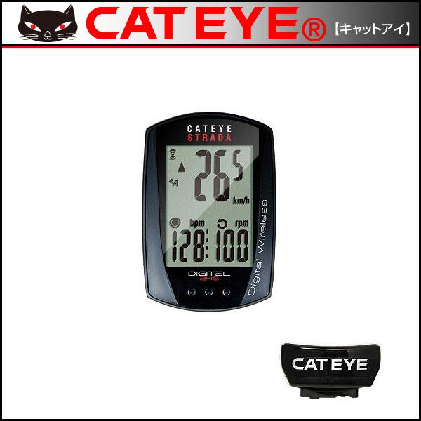CATEYE(キャットアイ) CC-RD430DW ストラーダデジタルワイヤレス CATEYE(キャットアイ) CC-RD430DW ストラーダデジタルワイヤレス【自転車用】