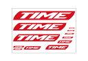 TIME タイム ステッカー タイムロゴ自転車 ロゴ シール ステッカー