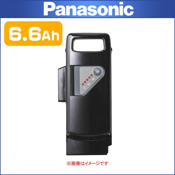 パナソニック リチウムイオンバッテリー 6.6Ah NKY491B02【EZ/OFF-TIME対応】【電動自転車用】【PANASONIC】 PANASONIC パナソニック交換 スペア用リチウムイオンバッテリー 6.6Ah