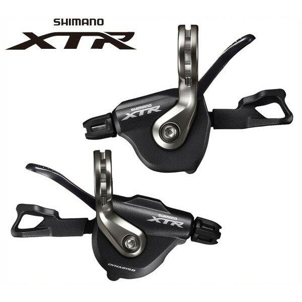 シマノ XTR シフトレバー SL-M9000 左右レバーセット 2/3X11S【SHIMANO XTR】 SHIMANO XTRシフトレバー SL-M9000 左右レバーセット 2/3X11S