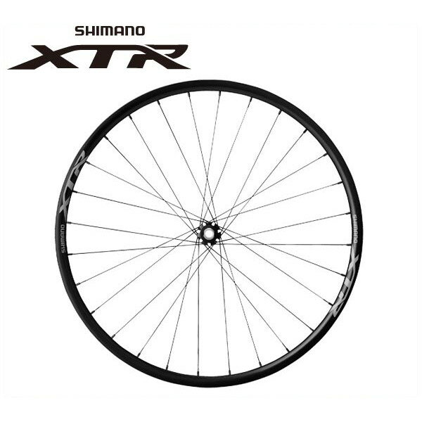 シマノ XTR ホイール WH-M9000 TU フロント 15mmEスルー 29インチ W/B【SHIMANO XTR】 SHIMANO XTRホイール WH-M9000 TU フロント 15mmEスルー 29インチ W/B