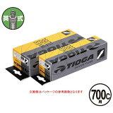 TIOGA(タイオガ) インナー チューブ 英式 700C/Inner Tube (English Valve) [TIT119]【700C/700C】【クロスバイク用】【英式バルブ口】【自転車用】【チューブ】