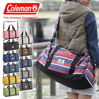 Coleman Coleman! 2-way Boston bag shoulder bag [C-DAILY BOSTON II, 21550 trip school excursion overnight learning camp trips [anime/manga]