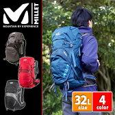 ミレー MILLET!バックパック 登山用リュック リュックサック 【HIKING/ハイキング】 [AERIAL 32] mis1861u メンズ レディース 登山 初心者 ザック 人気 ファッション 【送料無料】